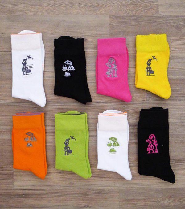 Sock'n'Roll - Chaussettes en vadrouille